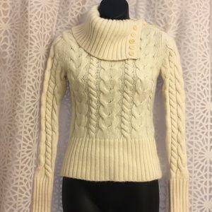 Banana Republic rabbit hair/wool sweater
